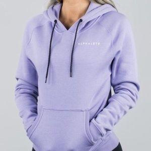 Alphalete Full Length Lavender Hoodie